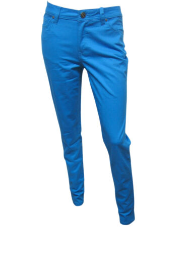 Womens Dunnes Skinny Fit Jeans Style Trousers Light Blue Size 8 to 18 D02.1