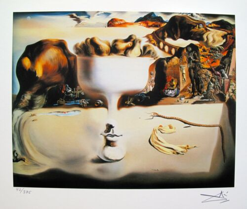 Salvador Dali APPARITION OF FACE Facsimile Signed & Numbered Art Giclee