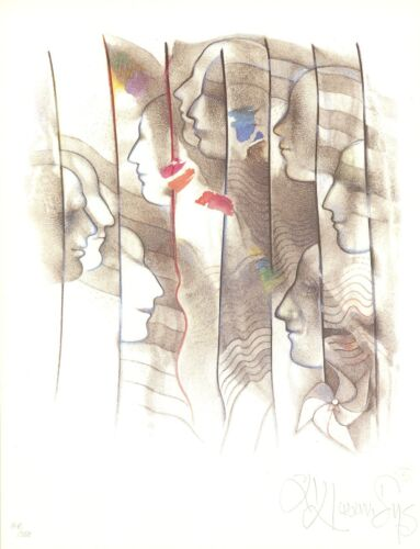 WFUNA ANDREAS IOANNIDES LIMITED EDITION HAND SIGNED & NUMBERED ART PRINT 148/750