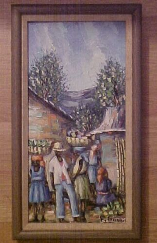 Haitian Painting by Francisco Gervais #1