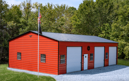 30x50 STEEL Garage, Storage Building   FREE DEL. & INSTALLATION! (prices vary)