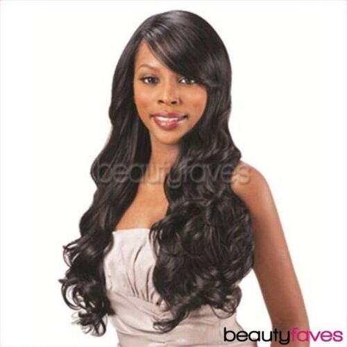LACE SWEPT SIDE BANG BY SHAKE N GO FREETRESS EQUAL CLIP IN EXTENSION WEAVE