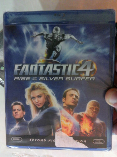 Fantastic 4 : Rise Of The Silver Surfer -, blu-ray (USA Import, Region A)