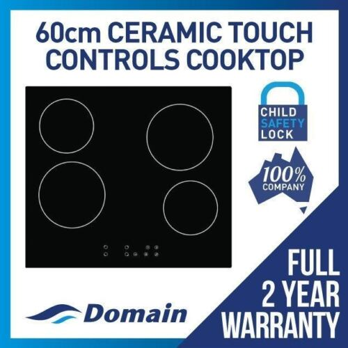 60cm CERAMIC GLASS TOUCH CONTROL ELECTRIC COOKTOP / COOK TOP / COOKER <br/> BONUS 12% OFF AUTO APPLIED AT CHECKOUT - BE QUICK