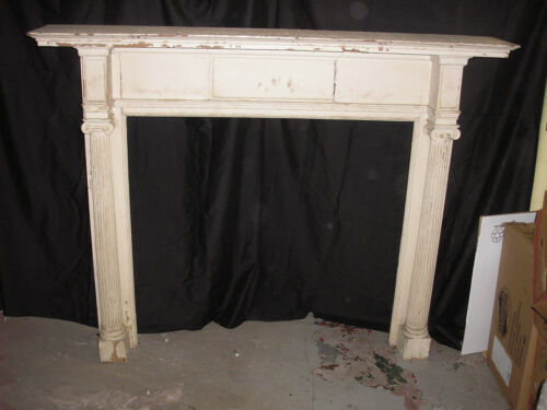 FEDERAL  ADAM style mantle CIRCA 1910 painted wood
