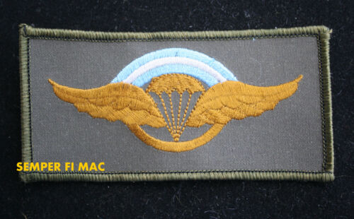 JUMP WING PARACHUTE COLLECTOR PATCH BASIC CHUTE HALO AIRBORNE GIFT PIN UP L@@K!Marine Corps - 66531