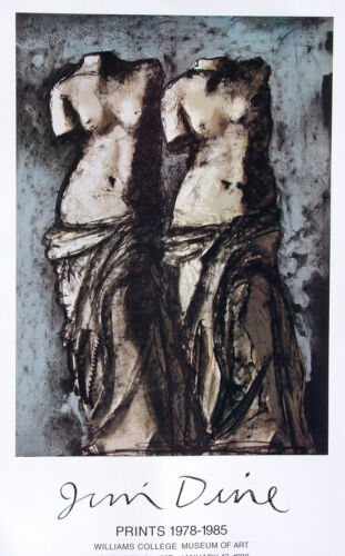 Jim Dine•Double Venus in the Sky at Night 1984•Williams College•Pace Poster