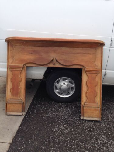 Antique Pine Half Mantel M 61