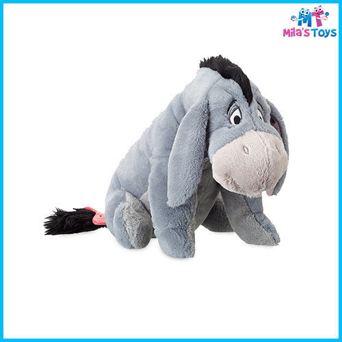 """Disney Winnie the Pooh Eeyore 11 1/2"""" Plush Doll Soft Toy brand new with tags"""