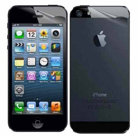 UltraClear Anti-Scratch Front Back Screen Protector For Apple iPhone 4 4s