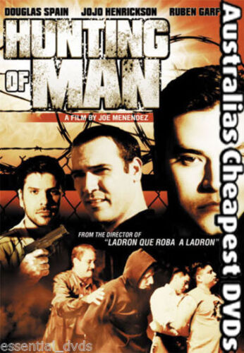 Hunting of Man DVD NEW, FREE POSTAGE WITHIN AUSTRALIA REGIONS ALL