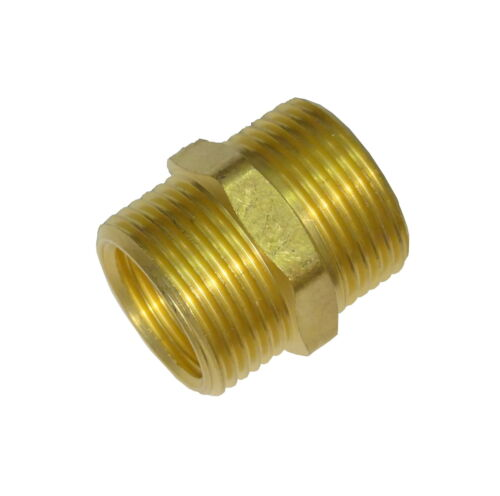 """5/8"""" x 1/2"""" x 3/4"""" Outside Tap Adaptor Old to New Garden Hose Connector Thread"""