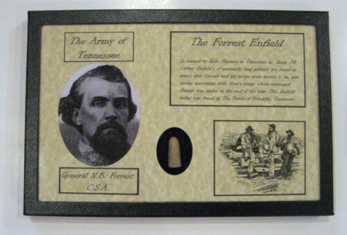 The Forrest Enfield in Matted Display Case with Certificate of AuthenticityBullets - 103996