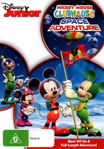 Mickey Mouse Clubhouse: Space Adventures * NEW DVD * (Region 4 Australia)