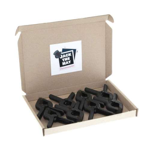 """8 x 90mm Pro Background Support Clamps for Photo Studio Backdrops. 3.5"""" Clips"""