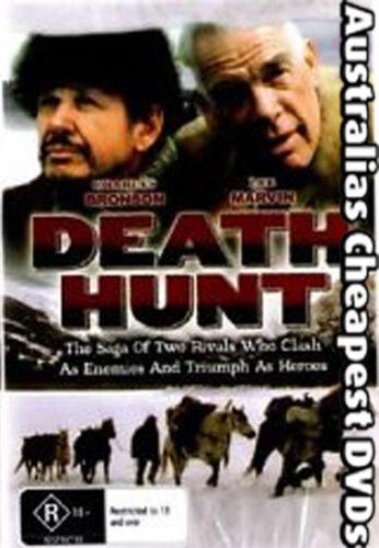 Death Hunt DVD NEW, FREE POSTAGE WITHIN AUSTRALIA ALL REGIONS