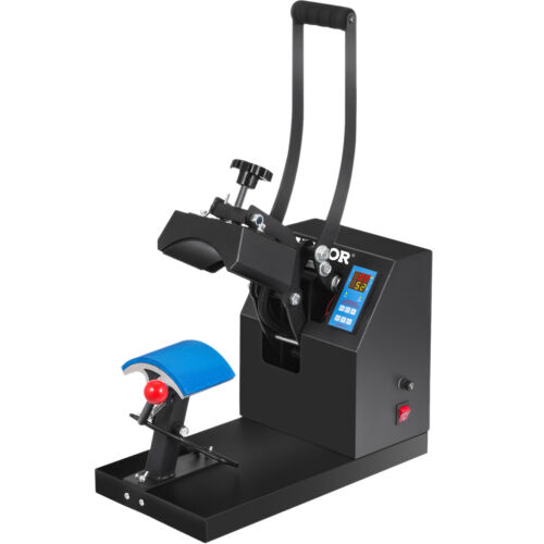 "Digital Heat Press Machine Cap Hat Transfer Sublimation Vinyl Printing 5.5""X3.5"""