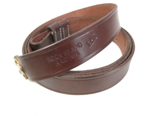 Indian War US Leather Sling 1873 Trapdoor & 1898 Krag-Jorgensen Rifle RIA ReproReproductions - 156386