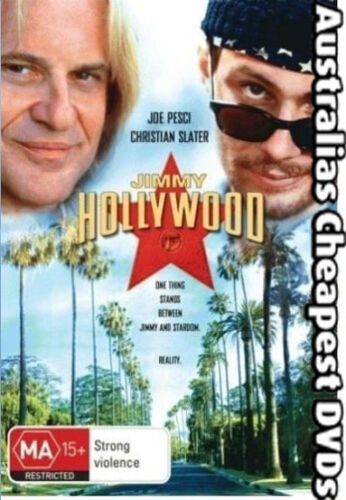 Jimmy Hollywood DVD NEW, FREE POSTAGE IN AUSTRALIA REGION 4