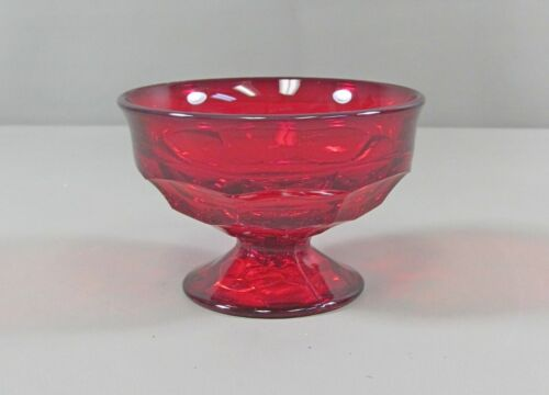 Viking Crystal GEORGIAN-RUBY Champagne/Tall Sherbet(s) Multi Avail Excellent