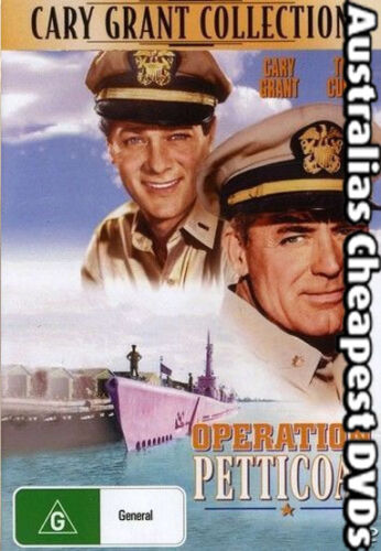 Operation Petticoat DVD NEW, FREE POSTAGE WITHIN AUSTRALIA REGIONS ALL