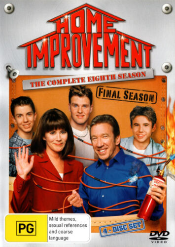 Home Improvement: Season 8 (4 Discs) * NEW DVD * (Region 4 Australia)