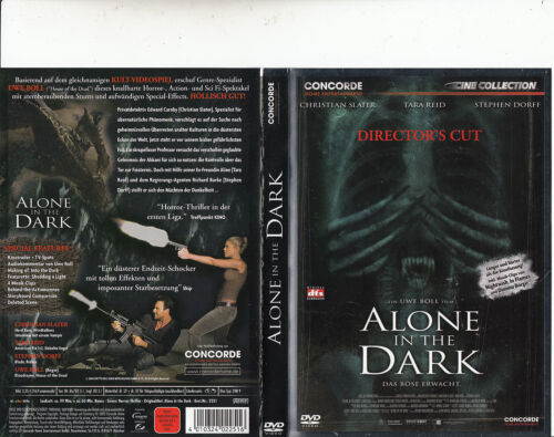 Alone In The Dark-2005-Christian Slater-Movie-DVD