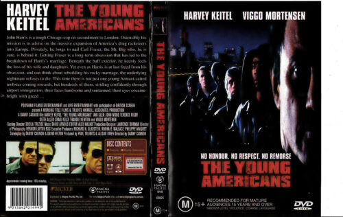The Young Americans-1993-Harvey Keitel-Movie-DVD
