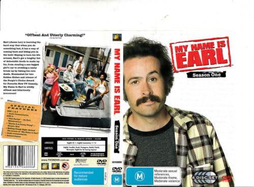 My Name Is Earl:Complete Season One-2005/09-TV Series USA-4 Disc Set-DVD