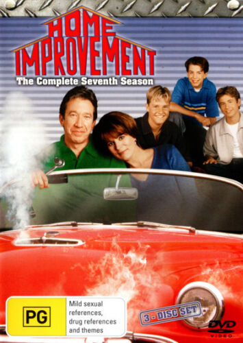 Home Improvement: Season 7 (3 Discs) * NEW DVD * (Region 4 Australia)