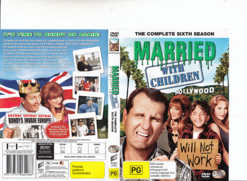 Married With Children-1987/1997-TV Series USA-Complete Sixth Season-3 Disc-DVD