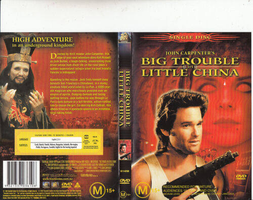 Big Trouble In Little China-2003-Kurt Russell-Movie-DVD