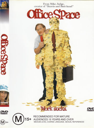 Office Space-1999-Ron Livingston-Movie-DVD