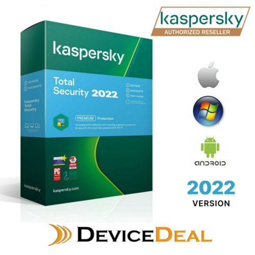 Kaspersky Total Security  Premium 1 Device 1 Year License Key 2020