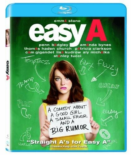 [BLU-RAY/A NEW] EASY A