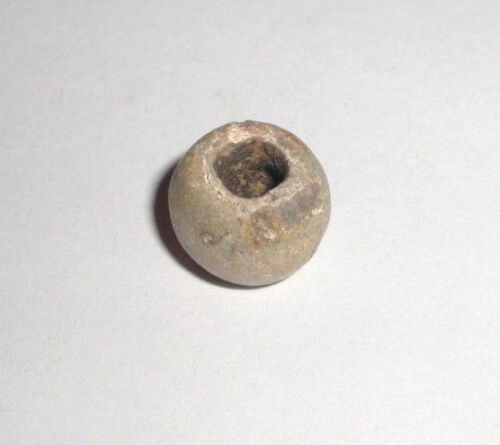 Ancient Roman Empire Lead Spindle Whorl