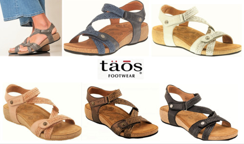 Taos Leather comfort Sandals on wedge Taos Shoes Spain Trulie 9 colours