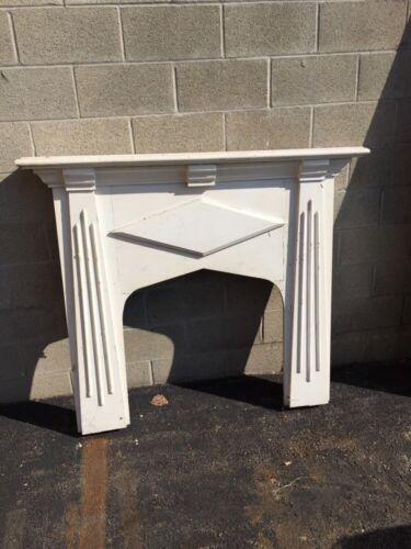Cm 51 Antique Small Petite Fireplace Mantel