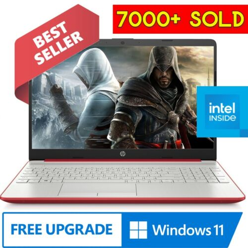 """2021 HP Laptop Computer 15.6"""" LED Intel Pentium 2.70GHz 4GB 128GB SSD WebCam <br/> 6700+ SOLD!!! FREE FAST SHIPPING! WINDOWS 10 INSTALLED!"""