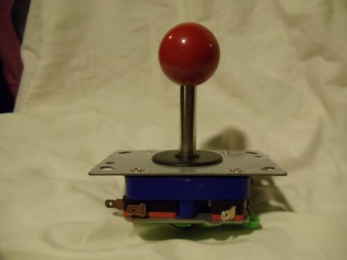 2 8way Joysticks With Center Button And Harness #2575 Collectibles Replacement Parts