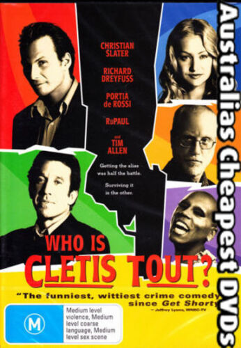 Who Is Cletis Tout? DVD NEW, FREE POSTAGE WITHIN AUSTRALIA REGION 4