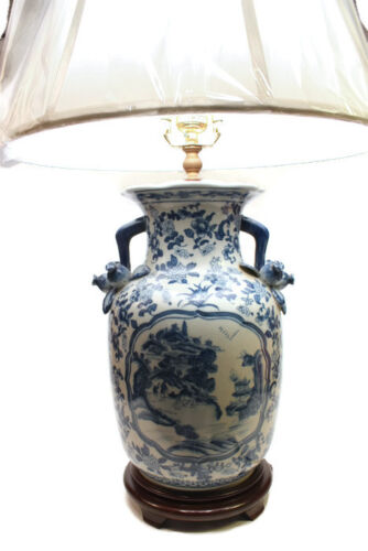 Table Lamp Porcelain Antiques Us
