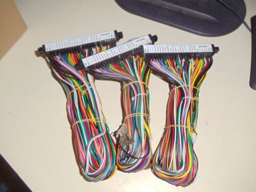 *3 PCS* JAMMA Wiring Harness with Wire Id Label Arcade Video Multicade FREE SHIP