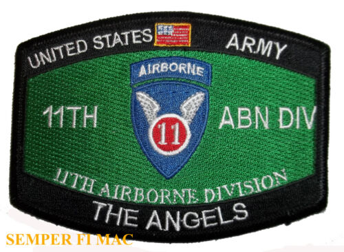US ARMY 11TH AIRBORNE DIVISION PATCH AIR ASSUALT Parachute infantry GILIDER WOW Other Militaria (Date Unknown) - 66534