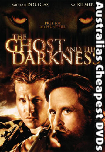 The Ghost And The Darkness DVD NEW, FREE POSTAGE WITHIN AUSTRALIA REGION ALL