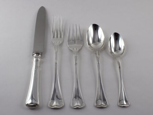 Calegaro Perle Sterling Silver 5 Piece Place Setting - No Monograms