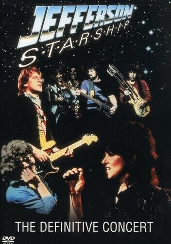 [DVD NTSC/1 NEW] JEFFERSON STARSHIP: THE DEFINITIVE CONCERT