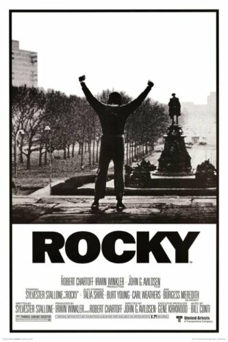 ROCKY - MOVIE POSTER - 24x36 STALLONE BOXING 2620