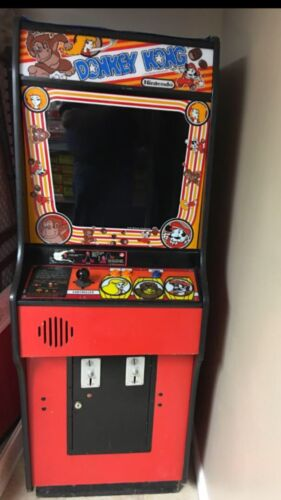 Top Holiday Gifts Donkey Kong Video Game Cabinet From Early 1980's Original