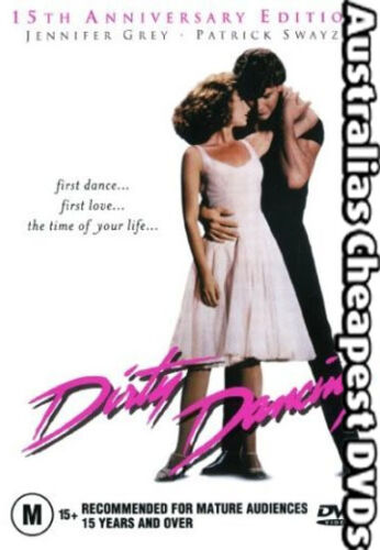 Dirty Dancing DVD NEW, FREE POSTAGE WITHIN AUSTRALIA REGION 4